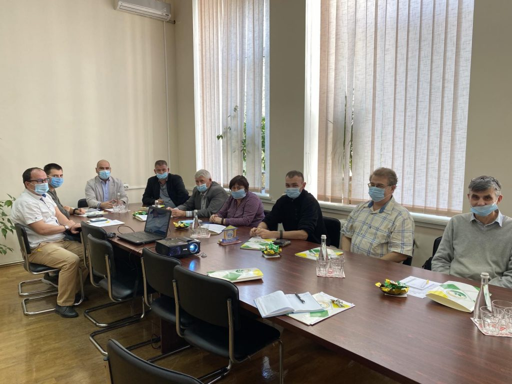 Introduction of space technologies in the development of the agricultural complex of the Black Sea